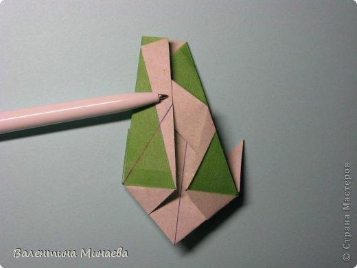 Кусудама Shalimar автор - Валентина Минаева (Valentina Minayeva) модули асимметричные, 60 штук соотношение 3,5 : 4 размер бумаги 5,0 х 6,0 см, итог - 10 см сборка с клеем (в пятерках модулей)  Инна, спасибо за название!  Вот здесь уже есть видео: http://www.youtube.com/watch?v=XCYXM-NuSUU&feature=youtu.be  фото 31