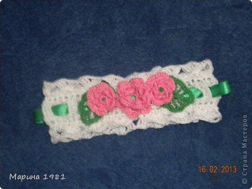 Вязание - Повязки на голову для девочек