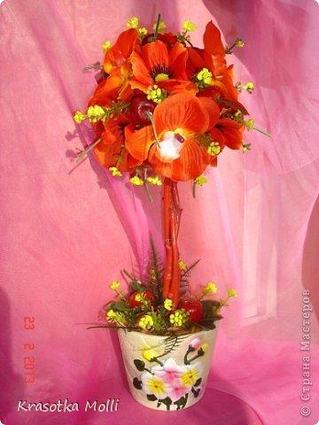 маки, орхидеи и вишенки)) фото 1