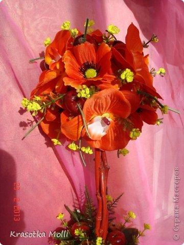 маки, орхидеи и вишенки)) фото 2