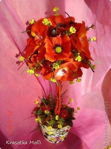 маки, орхидеи и вишенки)) фото 4