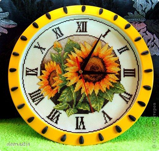 Вышивка крестом Часы