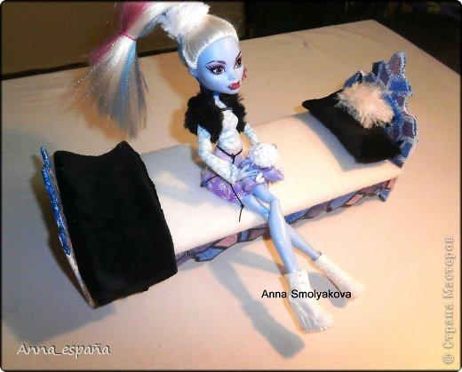 Это Эбби ! И для неё снежная кроватка! фото 1