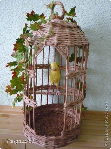 Добрый день! Скоро весна. Захотелось сделать что-то жизнеутверждающее. Птичек в клетку не будем садить. Пусть их заменят бумажные в бумажных клетках.