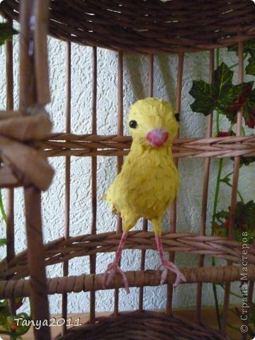 Добрый день! Скоро весна. Захотелось сделать что-то жизнеутверждающее. Птичек в клетку не будем садить. Пусть их заменят бумажные в бумажных клетках. фото 2