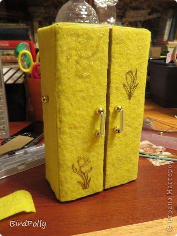 Как сделать шкаф из картона для куклы