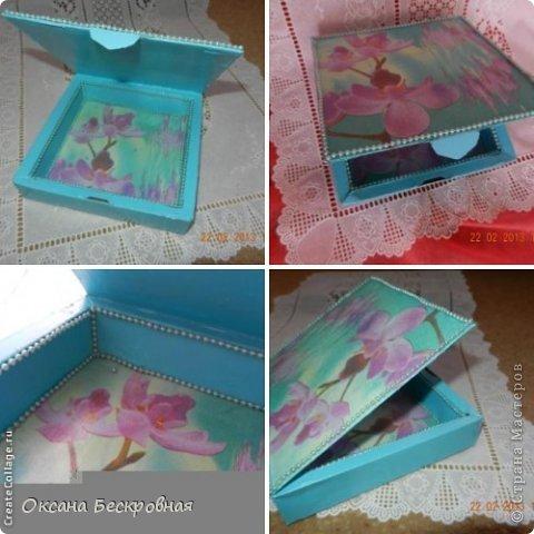 Что можно сделать из коробки изпод конфет Handmade