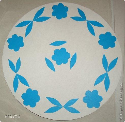 Тарелка декоративная из бумаги