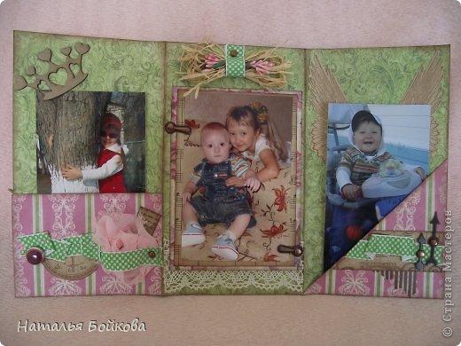 Здравствуйте, девочки! Такую открытку-миник решили мы сделать бабушке на 8 марта. МК по форме здесь http://stampomania-challenge.blogspot.ru/2011/10/lilavadi.html фото 7