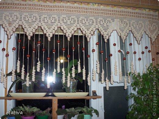 Интерьер Вязание крючком Штора