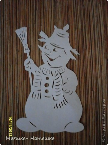 Поделка изделие Новый год Вырезание Вырезалочки в школу Бумага фото 3