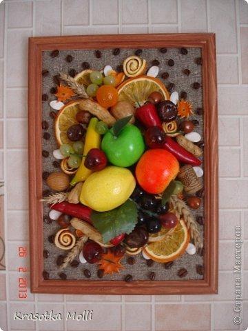 вид на кухонной стене) фото 1