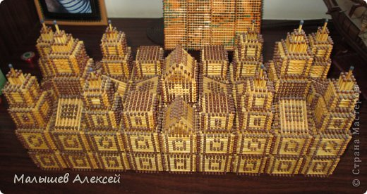 Как сделать со спичек замок - Dorel.ru