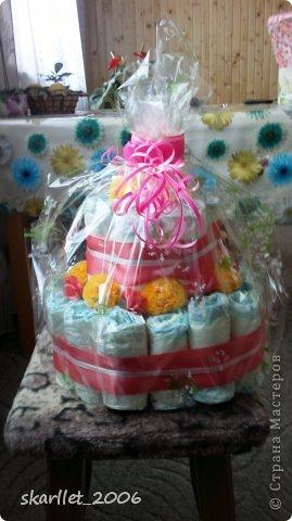 Торт к 1-му дню рождения фото 4