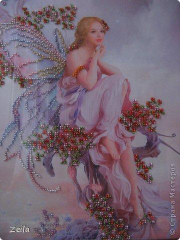 Картина панно рисунок Вышивка Вышивка бисером Бисер фото 2.