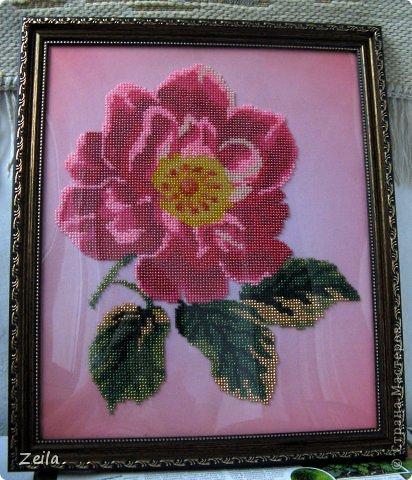 Картина панно рисунок Вышивка Вышивка бисером Бисер фото 3.