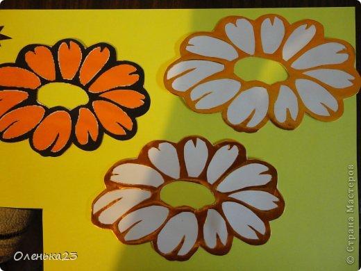 Поделка изделие 8 марта Аппликация Вырезание весна Бумага Клей фото 2