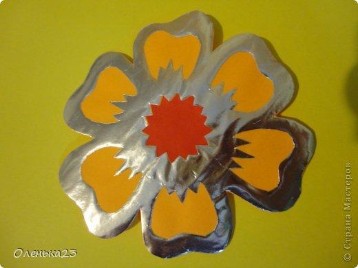 Поделка изделие 8 марта Аппликация Вырезание весна Бумага Клей фото 12