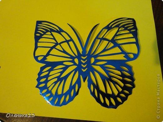 Поделка изделие Аппликация Вырезание мои бабочки повторюшки Бумага Клей фото 4