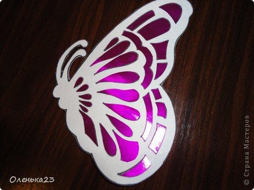 Поделка изделие Аппликация Вырезание мои бабочки повторюшки Бумага Клей фото 8