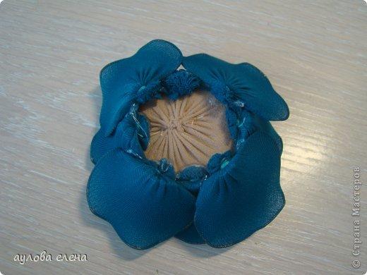 Мастер-класс 8 марта Шитьё Магниты-розочки Капрон Магниты Проволока фото 20