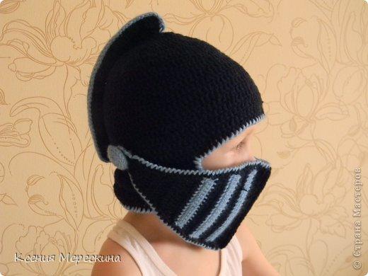 Шапка шлем-маска схема вязки