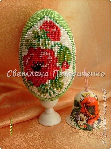 """Яйцо сувенирное """"Маков цвет"""""""