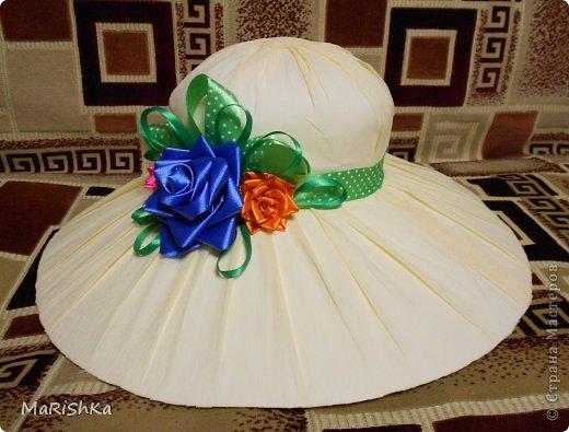 Как сделать шляпу для девочки из бумаги своими руками