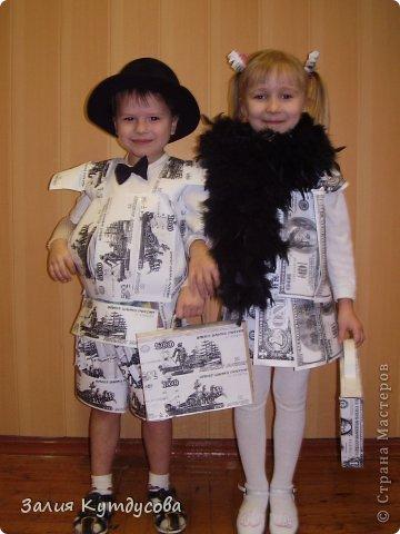 Идеи костюма для мальчика из бросового материала