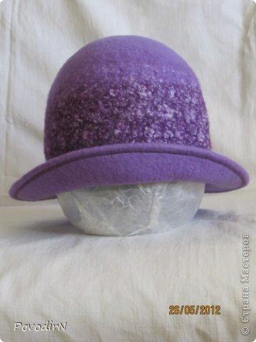 И ещё немного  банных шапок. фото 3