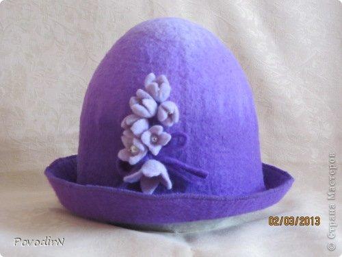 И ещё немного  банных шапок. фото 5