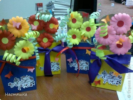 Подарок своими руками к 8 марта фото