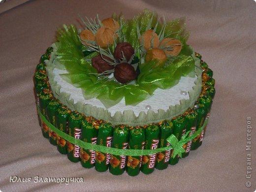 вот и до орехового тортика добралась) фото 1