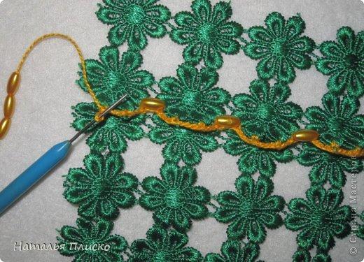 """Всем привет!!! Недавно одна моя знакомая, большая любительница ручной работы, привезла мне из Турции кружевную салфетницу """"HandMade"""" (на фото справа)...  фото 10"""
