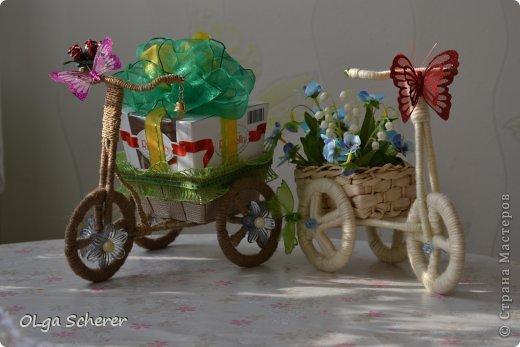 Велосипед из дерева поделка 97