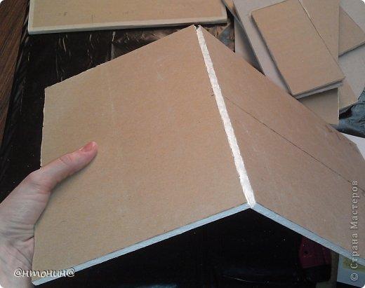 Доброго Вам времечка! Сегодня я хочу рассказать и показать Вам, как я делала свой комодик из остатков гипсокартона. Результат получился таким:  фото 4