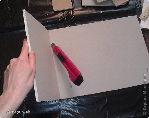 Доброго Вам времечка! Сегодня я хочу рассказать и показать Вам, как я делала свой комодик из остатков гипсокартона. Результат получился таким:  фото 6