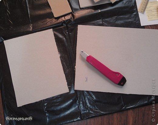 Доброго Вам времечка! Сегодня я хочу рассказать и показать Вам, как я делала свой комодик из остатков гипсокартона. Результат получился таким:  фото 7