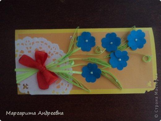 Открытки-конвертики для денег. фото 3