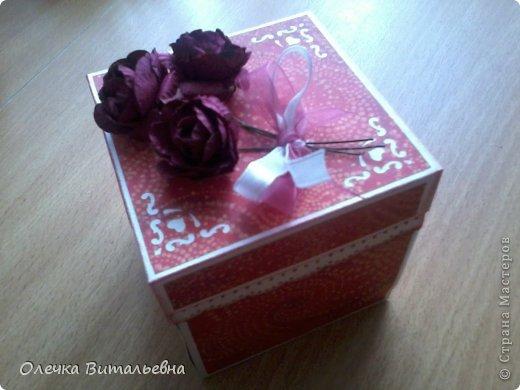 Милые Мастерицы! Представляю вашему вниманию еще одну подарочную коробочку. Жду ваших комментариев!  фото 1