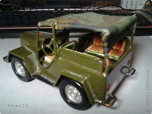 Эту машинку сделал мой папа с младшим братом. фото 4