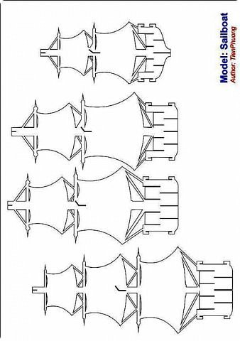 pop-up Корабль + схема