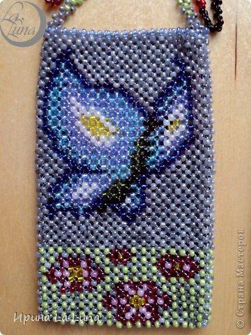 Плетение бисером чехол для