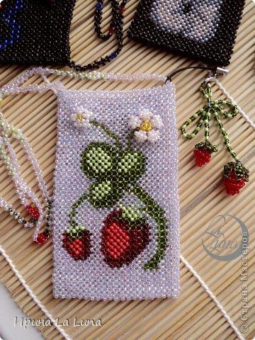 Плетение - Чехлы для телефонов из бисера.