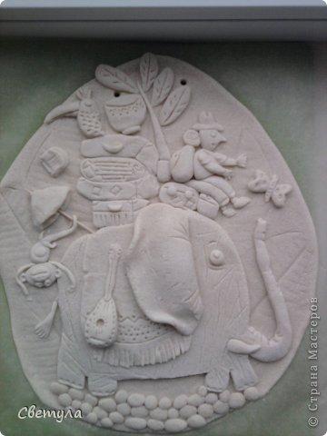 Доброго времени суток Страна!!!!  Выношу на ваш суд свое слоновое семейство!  Потянуло меня на слоников , да не простых ,а радужных! Все вышли яркие весенние. (хоть фотик этого не передает, сори). Нашла иллюстрацию в инете  Мари Дезбонс и вот результат. фото 5