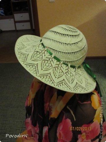 Подруга собралась на отдых. Нужна шляпка с большими полями. Месяц раздумий, 4 дня работы и вот она... фото 1