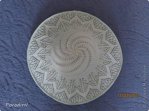 Гардероб Вязание спицами Ажурная летняя шляпка Пряжа фото 2