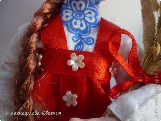 Моя первая кукла из папье маше фото 3