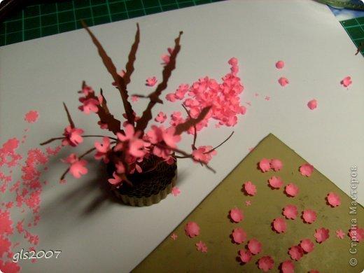 Дерево сакура своими руками из бумаги