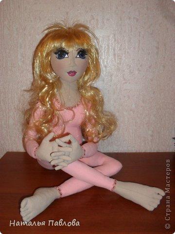 Захотелось внучке на день рождения сделать куклу...Кто,если не я, ей такую подарит? фото 5